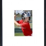 (#5)5X7 Print wide matt in black acrylic frame $45.00